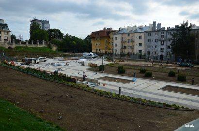 Aktualności Rzeszów | Fontanna na finiszu. Pierwszy pokaz - 17 sierpnia