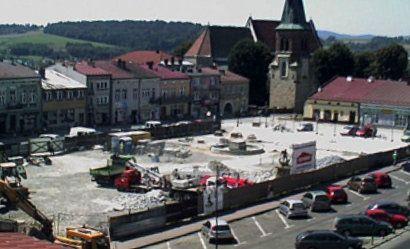 Aktualności Podkarpacie | Remont rynku w Strzyżowie