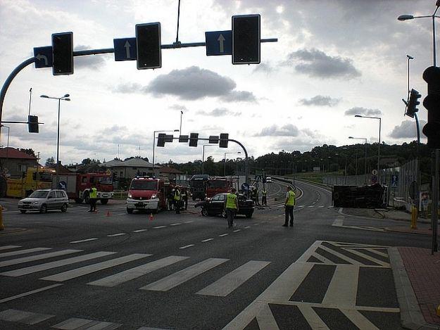 Aktualności Podkarpacie | Wypadek w Ropczycach. 5 rannych