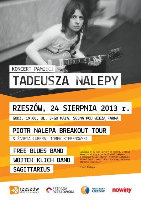 Aktualności Rzeszów | Koncert Pamięci Tadeusza Nalepy