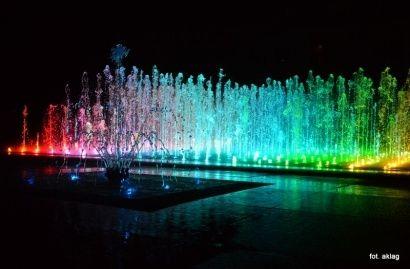 Aktualności Rzeszów | Nie kąpać się w fontannie multimedialnej!