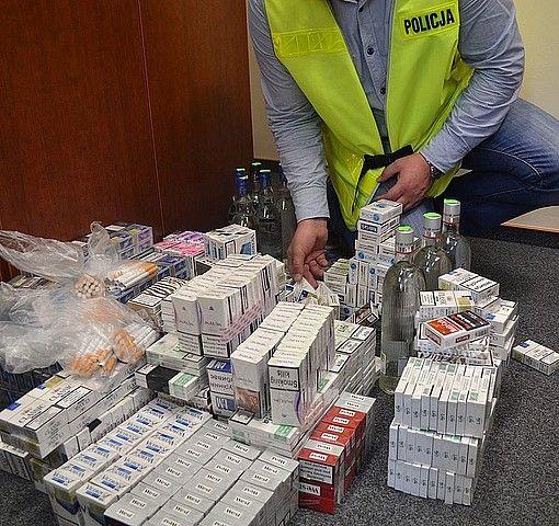 Aktualności Podkarpacie | Policja skonfiskowała ponad 14,5 tys. papierosów