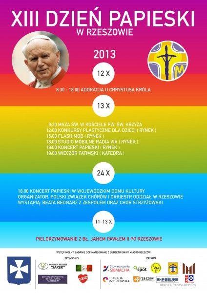 Aktualności Rzeszów | Dzień Papieski w Rzeszowie