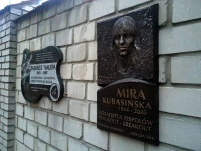 Aktualności Rzeszów | Tablica pamięci Miry Kubasińskiej w Rzeszowie