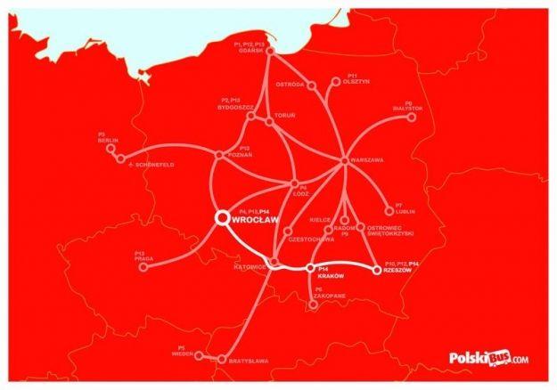 Aktualności Rzeszów | Nowy bus Rzeszów - Kraków - Wrocław