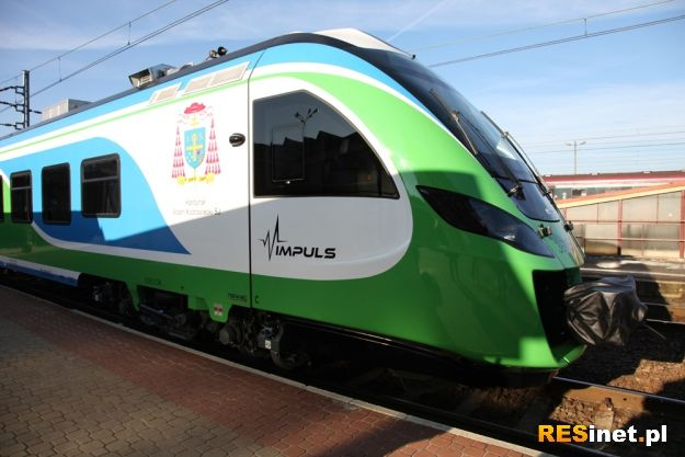 Aktualności Rzeszów | Nowoczesny pociąg na trasie Rzeszów - Przemyśl