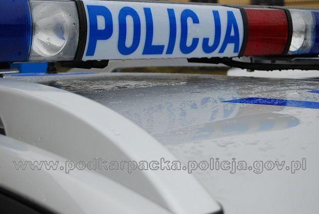 Aktualności Podkarpacie   Zostawił auto na skrzyżowaniu i uciekał przed policją