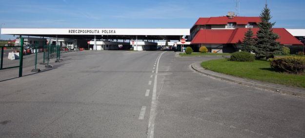 Aktualności Podkarpacie   Blokada drogi dojazdowej do przejścia Medyka-Szeginie