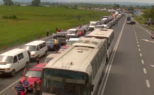 Aktualności Podkarpacie | Zakończyła się blokada przejść granicznych