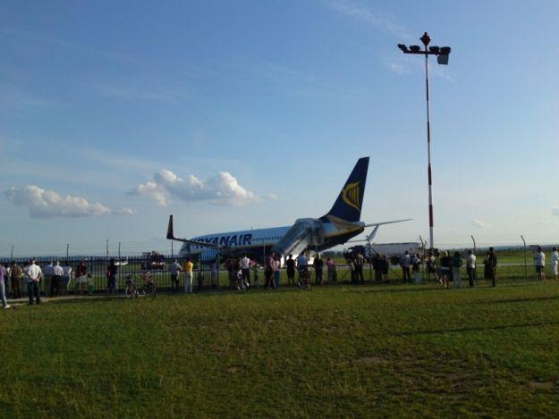 Aktualności Podkarpacie | Kłopoty z lądowaniem na lotnisku w Jasionce