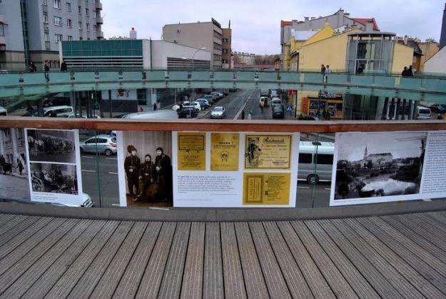 Aktualności Rzeszów | Zdewastowali okrągłą kładkę. Trwa poszukiwanie wandala