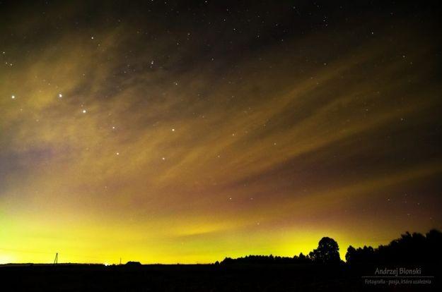 FOTO. Niezwykłe zjawisko na niebie w okolicach Rzeszowa
