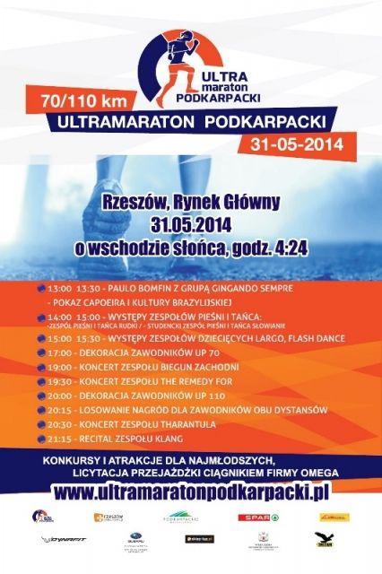 W sobotę rusza I Ultramaraton Podkarpacki - Aktualności Rzeszów