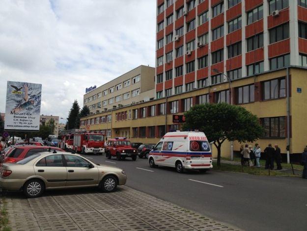 (FOTO) Alarm bombowy przy Geodetów - Aktualności Rzeszów