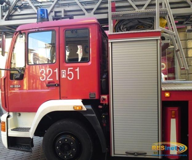 Pożar, ewakuacja i zatrucie czadem - Aktualności Podkarpacie