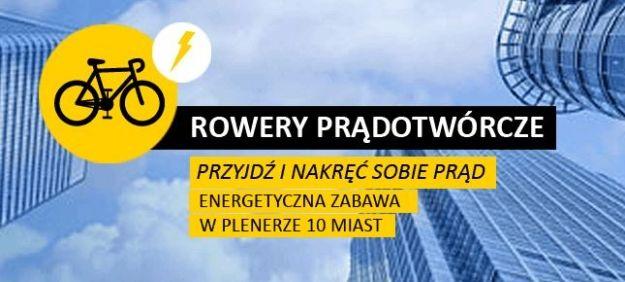 Rowery prądotwórcze na rzeszowskim Rynku - Aktualności Rzeszów