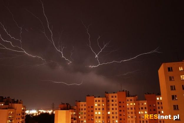 Możliwe burze i opady gradu - Aktualności Podkarpacie