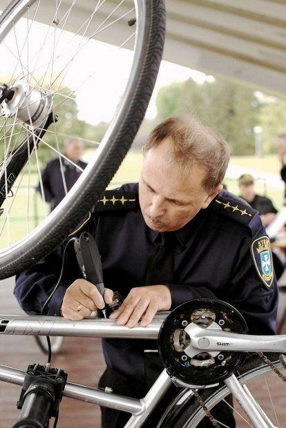 Oznakuj swój rower - Aktualności Rzeszów