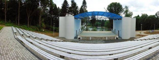 W Polańczyku otwarto amfiteatr - Aktualności Podkarpacie