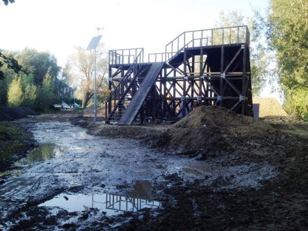 (FOTO) Dirt-park już gotowy - Aktualności Rzeszów