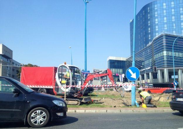 (FOTO) Roboty drogowe przy dwóch rzeszowskich rondach - Aktualności Rzeszów