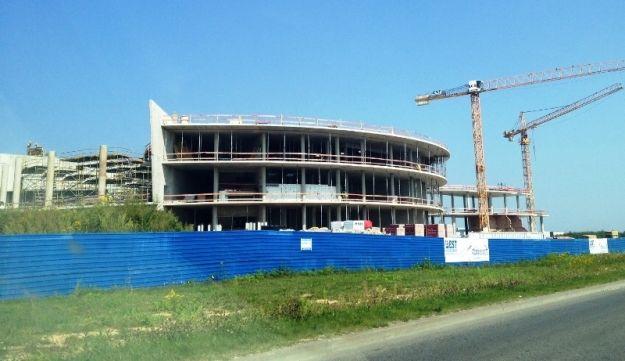 (FOTO) Trwa budowa Centrum Wystawienniczo-Kongresowego - Aktualności Rzeszów