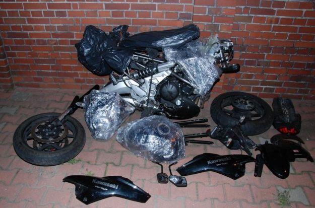 Skrytka z motocyklami - Aktualności Podkarpacie