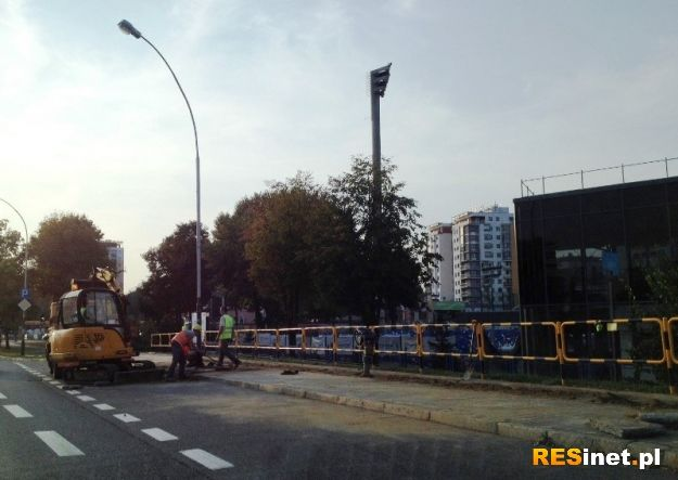 (FOTO) Zablokowany pas ruchu na Powstańców Warszawy - Aktualności Rzeszów