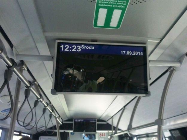 Nowoczesne tablice w autobusach. Poinformują o kolizjach i trasie jazdy - Aktualności Rzeszów