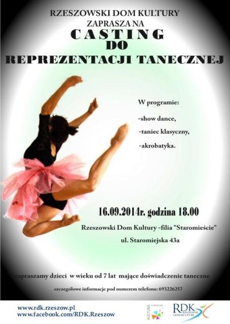 Powstaje taneczna reprezentacja Rzeszowa - Aktualności Rzeszów