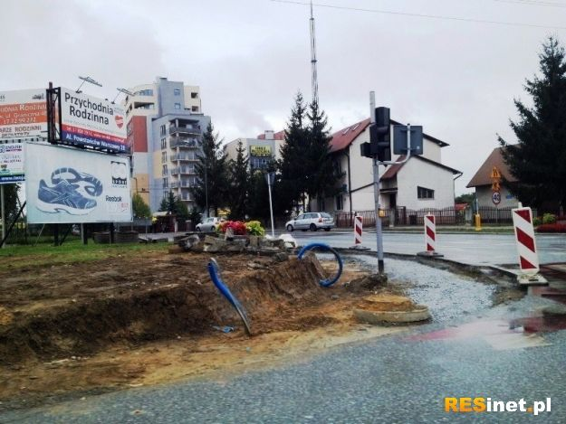 Roboty drogowe przy ul. Kwiatkowskiego - Aktualności Rzeszów