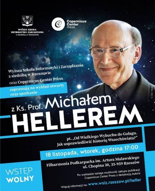 Ks. prof. M. Heller ponownie wygłosi wykład w Rzeszowie - Aktualności Rzeszów