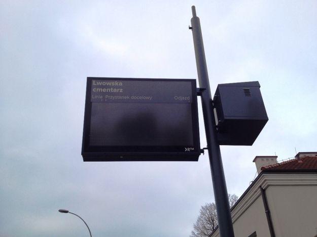 Coraz więcej tablic przystankowych - Aktualności Rzeszów