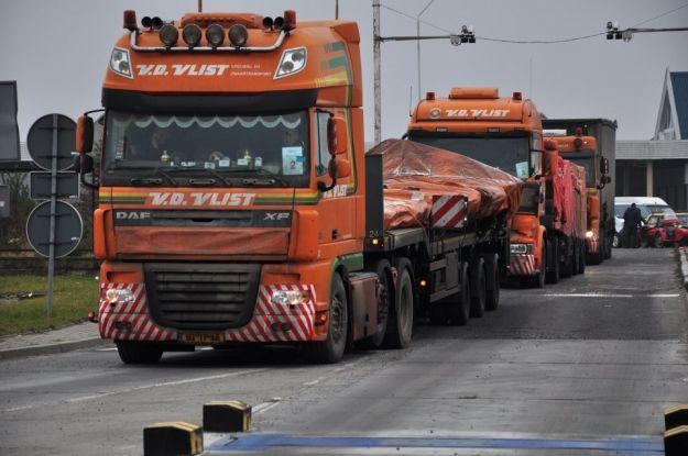 (FOTO) Przez Rzeszów przewieziono wrak malezyjskiego boeinga! - Aktualności Rzeszów