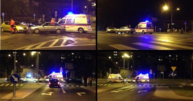 FOTO. Wypadek koło Reala - Aktualności Rzeszów