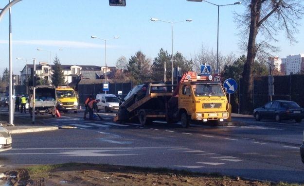 FOTO. Wypadek przy Lwowskiej! Zderzyły się 4 auta - Aktualności Rzeszów
