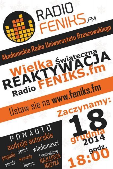 Reaktywuje się studenckie radio Feniks - Aktualności Rzeszów