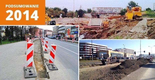 Podsumowanie 2014 w Rzeszowie. Inwestycje drogowe - Aktualności Rzeszów
