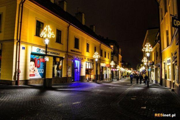 Najlepiej oświetlone miasto. Rzeszów na 4. miejscu  - Aktualności Rzeszów