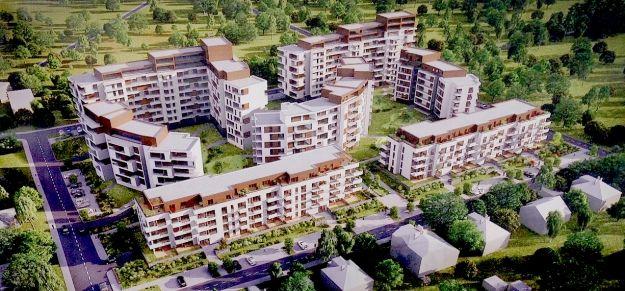 FOTO. Zobacz, jak rośnie nowe osiedle mieszkaniowe w Rzeszowie - Aktualności Rzeszów