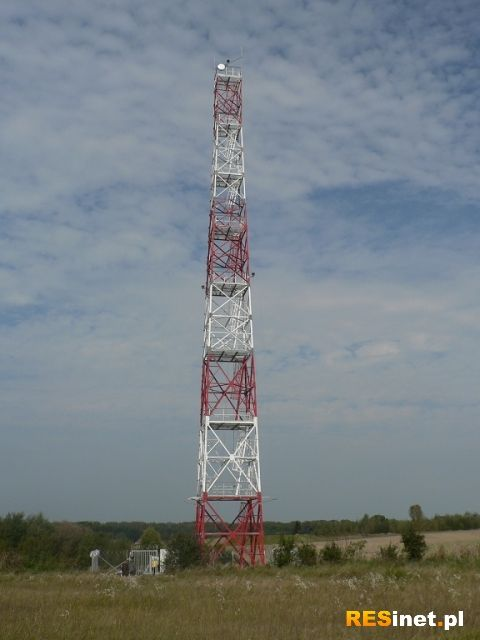 50 metrowa wieża obserwacyjna. Nowość w Bieszczadzkiej Straży Granicznej - Aktualności Podkarpacie
