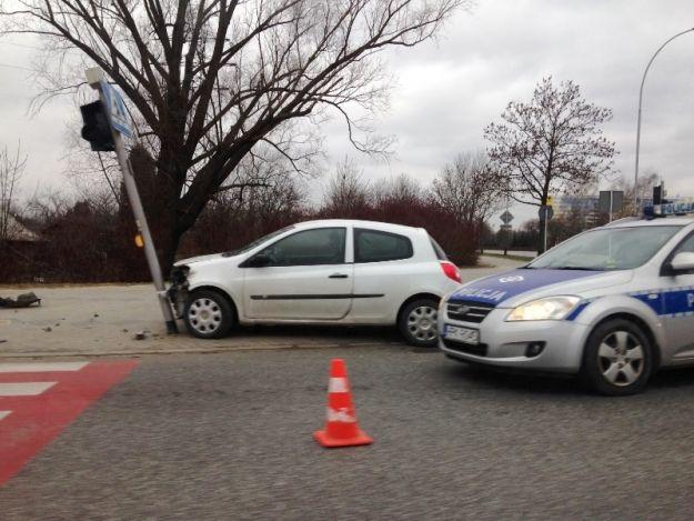 FOTO. Wypadek na al. Sikorskiego w Rzeszowie - Aktualności Rzeszów