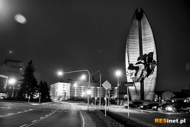 Oświetlili kontrowersyjny symbol Rzeszowa - Aktualności Rzeszów