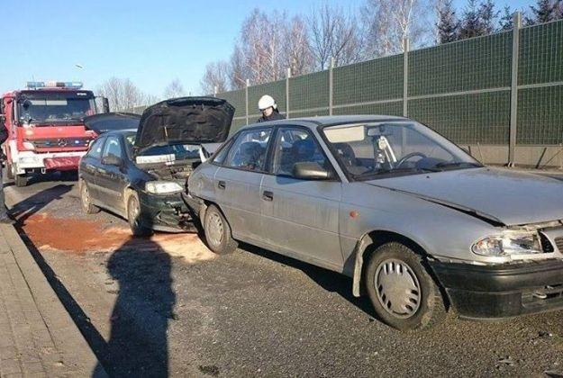 Poranny wypadek w Świlczy. Zderzyły się trzy auta - Aktualności Rzeszów