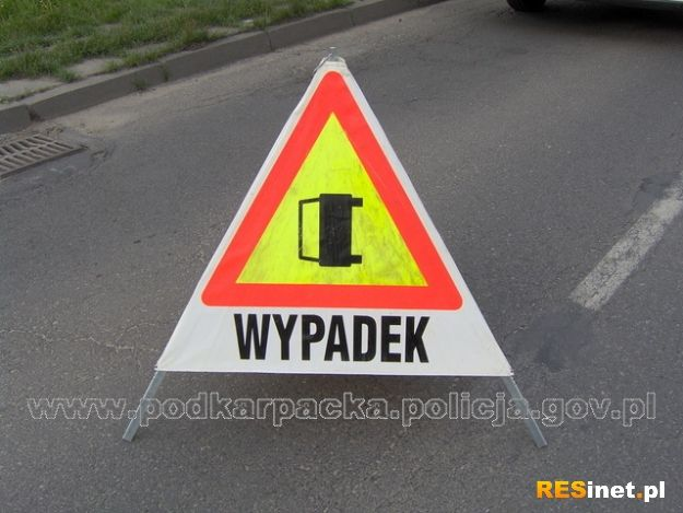 Tragiczny wypadek koło Krosna. Nie żyją 2 osoby - Aktualności Podkarpacie