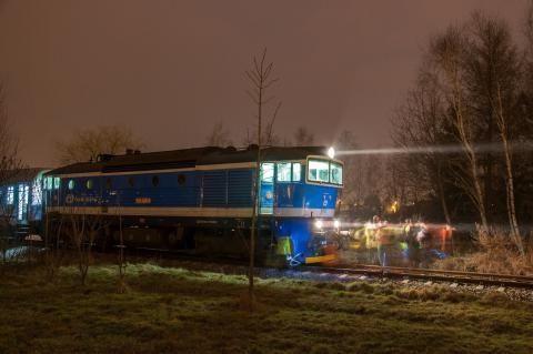 Wypadek przy ul. Zawiszy w Rzeszowie. Pieszy potrącony przez pociąg - Aktualności Rzeszów