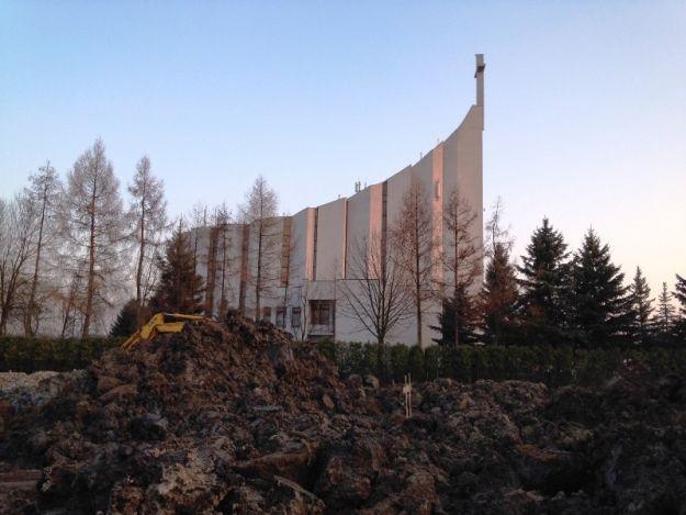 FOTO. Kolejny etap rozbudowy Parku Papieskiego. Będzie strumyk i scena - Aktualności Rzeszów