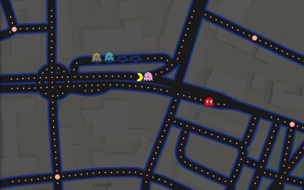 Pac-Man na ulicach Rzeszowa w Google Maps - Aktualności Rzeszów