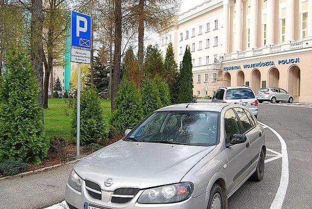 Od jutra zmiana organizacji ruchu na parkingach przed Komendą Wojewódzką Policji - Aktualności Rzeszów