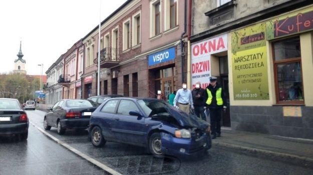 Wypadek na ul. Dąbrowskiego - Aktualności Rzeszów